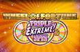 Виртуальный игровой автомат Wheel of Fortune: Triple Extreme Spin
